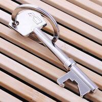 Key Portable Bottle Opener Beer Bottle Can Opener Hanging Ring Keychain Gift