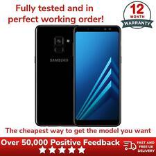 Samsung Galaxy A8 Unlocked 32GB Smartphone SIM Free Converted Model - Black