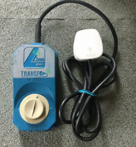 Lima Blue 50-2052 Controller with built in transformer - train speed controller