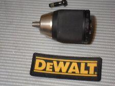 "DeWALT 700 Series 1/2"" Carbide Jaws Chuck W/Screw 330075-91 DC988-DCD951-DCD985"
