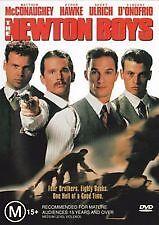 THE NEWTON BOYS - BRAND NEW & SEALED R4 DVD (MATTHEW MCCONAUGHEY, ETHAN HAWKE)