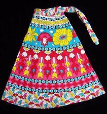 Girl Fashion clothing COTTON HAND BLOCK PRINT Bird  WRAP AROUND SARONG SKIRT 4