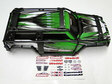 NEW TRAXXAS SUMMIT 1/10 Body Set Factory Green Upgraded Design RM6G