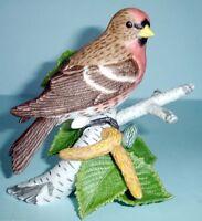 Lenox Common Redpoll Hand-Painted Garden Bird Figurine COA New