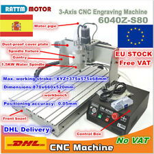 【ES】3 Axis 6040 Z-S80 1500W SpindleMach3 Engrave Milling Machine 220V CNC Router