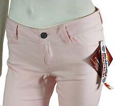 "New Vtg 90s Dickies Low Rise Pants Women's 3 Pink Boot Cut 30"" Waist Deadstock !"