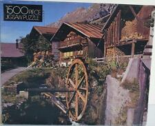 Whitman ~ Old Swiss Mill ~ 1500 Piece Puzzle ~ New