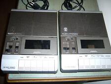 Grundig CR 590 Stereo Cassette Recorder Kassettenrekorder 2 Stück