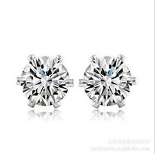 classic diamond stud style crystal stud earrings