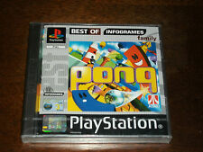 PONG (VERSIONE BEST OF INFOGRAMES) PS1 - SIGILLATO!!! - RARISSIMO!!!