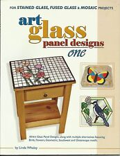 Art Glass Panel Designs Stained Glass Fusing Mosaic Pattern Book