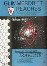 TRAVELLER  Glimmerdrift Reaches Complete Sector Guide -Judges Guild shrink FS