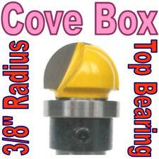 "1pc 1/2"" SH 3/8"" Rad, Top Bearing Cove Box Core Box Router Bit  sct-888"