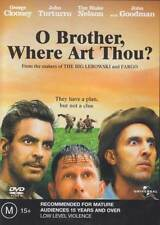 O Brother Where Art Thou ? * NEW DVD * George Clooney John Goodman Holly Hunter