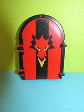 Playmobil Fenster Wappen Fenster rot schwarz Drachen Festung 3269 2 ,-tlg Rahmen