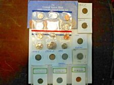 Coin Collector Lot 7-1991 Mint Set,Slab,Indian,Buffalo,V Nickel,Wheat