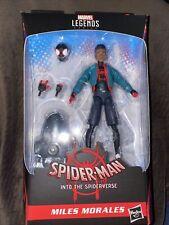 Spider-Man Into the Spiderverse Marvel Legends 6-Inch Miles Morales AF HASBRO
