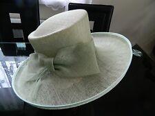 Vintage Light Green Hat Wedding,Races,Ascot