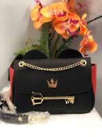 NWT LOUNGEFLY X DISNEY Kingdom Hearts Mickey Mouse Leather Crossbody Bag