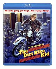 THE DIRT BIKE KID (1985 Peter Billingsley)  -  Blu Ray - Sealed Region free