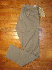 NWT RRL Double RL Ralph Lauren Men's Dense Cotton Twill Chino Pants Olive 30X32