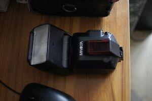 flash minolta 5600 hs D pour sony alpha tres bon etat