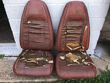 1970 Dodge Challenger Plymouth Barracuda Cuda front bucket seats