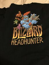 Blizzard Entertainment HEADHUNTER Employee Shirt XL