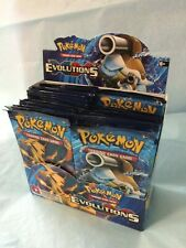 Pokemon XY EVOLUTIONS BOOSTER BOX - 2 FACTORY SEALED PACKS 10 CARDS/PACK