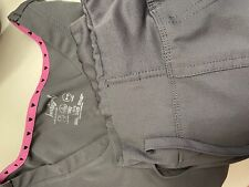 heartsoul large scrub pant And Shirt black