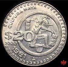 1981 Mexico 20 Pesos - Lot#W185