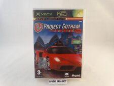PROJECT GOTHAM RACING 2 PGR - MICROSOFT XBOX PRIMO MODELO CLASSIC e 360 - PAL