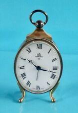 Ancien Réveil Uti SWIZA 8 de ( Style Pendule Napoléon III ) rétro Vintage