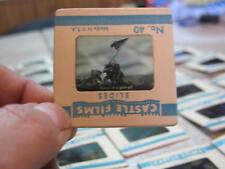 Vintage Castle Films Epic Pictures 48 World War II WW 2 2 x 2 Slides