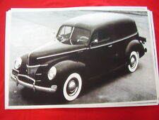 1940 FORD SEDAN DELIVERY 11 X 17  PHOTO /  PICTURE