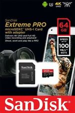 Sandisk Extreme PRO 64gb Micro SDXC UHS-I Card 100MB/s 677x