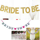 Bride To Be Bunting Banner Bridal Shower Wedding Party Supply Decor Modern DIY