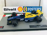 F1 Car Collection Fully Upgraded Camel XP -Tyrrell 018 -Jean Alesi 1989 - Superb