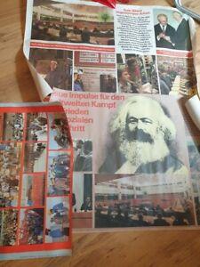 3 Poster Plakate Agitation DDR  , SED , FDJ ,NVA