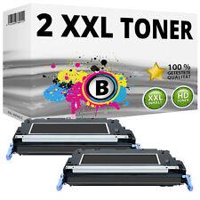 2 TONER für HP Q6470A 501A Color LaserJet 3600N 3600DN 3800N 3800DN 3505N 3505DN