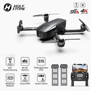 HS720E RC GPS Drone with EIS 4K HD Camera 5G FPV Foldable Brushless Quadcopter