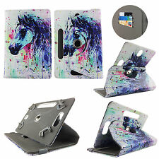 "For Zeepad Flytouch 10"" Inch Tablet Colorful Horse Painting Case Cover"