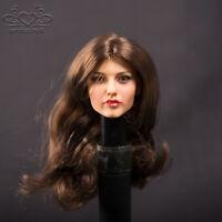 "Custom KUMIK 1/6 Scale Female Head Sculpt Chef 13-33 12"" Hottoys Sideshow Figure"