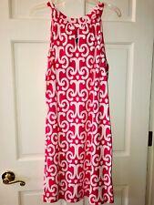 Jude Connally JC Ikat Hot Pink Dress NWT XL