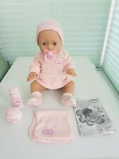 """Zapf Baby Annabell """"care for me"""" Bathable Shivers Doll Original Accessories"""