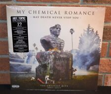 MY CHEMICAL ROMANCE - May Death Never Stop You LTD 2LP CLEAR/WHITE VINYL + DVD