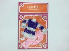 Vintage 70'S Clothing Doll Model Caroline [New]