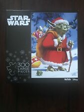 Brand new! Star Wars 300 Large Pieces Holiday Yoda Puzzle (Buffalo Games)