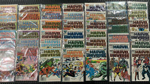 The Official Handbook Of The Marvel Universe 1984-1989 VF/NM COMPLETE RUN COMIC