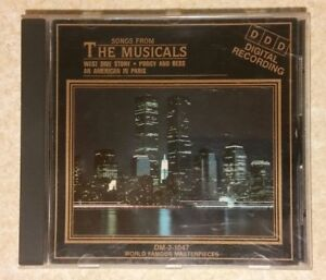 Songs from the Musicals: West Side Story, Porgy and Bess, American In Paris (CD)